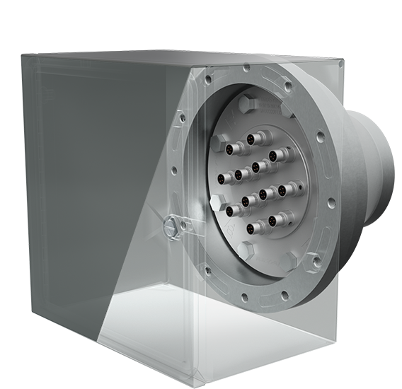 with Penetration Flange & Protection Box